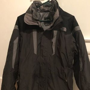 Men's North Face Winter Coat with Shell